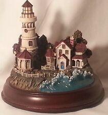 "Thomas Kinkade Light House "" Victorian Light"""