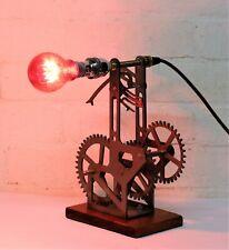 Steampunk Desk Lamp Table Lamp Vintage Industrial style Engineering Sculpture