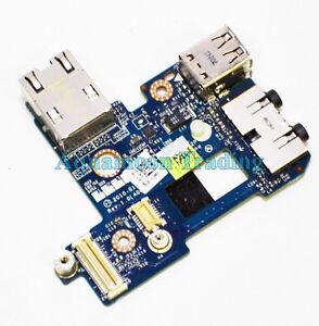 N3R3T Genuine OEM Original E6410 I/O Circuit Board Audio IN/Out USB Port RJ-45