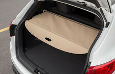 Rear Trunk Shade Cargo Cover Nets for 2014-2017 Nissan X-Trail Rogue Beige