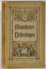 Munchener Bilderbogen 3 folios illustrated Nos. 47 49 50 1870s stories costume