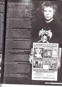 BRUCE DICKINSON, SLIPKNOT, DEPECHE  MODE, JUDAS PRIEST  Hungarian magazine