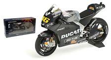 Minichamps Ducati GP12 MotoGP Valentino Rossi prueba de Sepang escala 1/12 de 2012