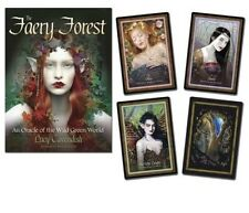 The Faery Forest Oracle: An Oracle of the Wild Green World by Lucy Cavendish (En