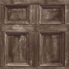 DISTINTIVO Di Legno Pannello Carta Da Parati-Marrone scuro-Fine Decor FD31055 Boiserie