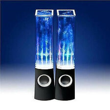 Altavoces Conectividad Usb Ipod Mp3 Player Computadora Laptop Bailando Agua Luces