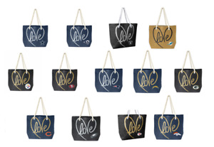 NFL Love Rope Tote Purse by Little Earth