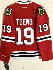 Reebok Women's Premier NHL Jersey Chicago Blackhawks Jonathan Toews Red sz L