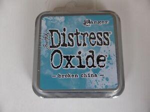 *NEW* (Ranger) TIM HOLTZ Distress OXIDE *Broken China* (Full Sized Ink Pad)