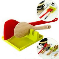 Spoon Rest Heat Resistant Spatula Rack Cooking Stand Tool Holder Kitchen Utensil