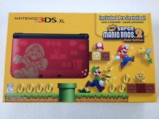 Nintendo 3DS XL New Super Mario Bros 2 Limited Edtion Gold Red Console MINT NEW