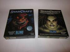 StarCraft 1 Collectors Edition Zerg + Brood War - Blizzard, 1997,, 2x BigBox PC