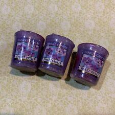 Conjunto de 2 X Yankee Candle Perfumado American Home grandes Tarro De Cristal Dulce Lila
