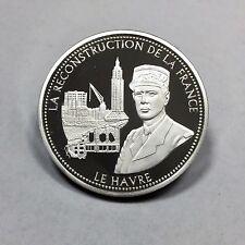 MEDAILLE - LE HAVRE - Médaille en Argent // Qualité : BE
