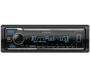 Kenwood KMM-BT306 Digital Media Receiver with Bluetooth Car Audio Stereo NO CD