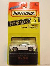 MATCHBOX SUPER WORLD CLASS #38 - CAMARO Z- 28