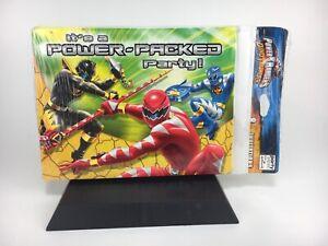 8 invites Vintage 90s Power Rangers Party Invitations