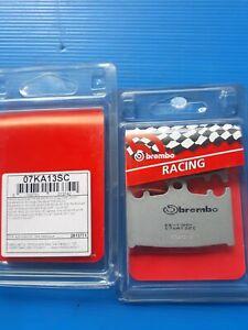07KA13SC Racing PASTICCHE FRENO BREMBO GSXR ZXR altri vedi descrizione