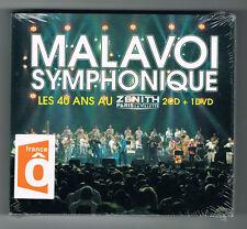 MALAVOI SYMPHONIQUE - LES 40 ANS AU ZÉNITH - 2 CD + 1 DVD - 2013 - NEUF NEW NEU