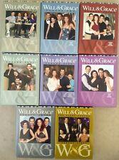 Loris-lots Will & Grace Complete Original Series Seasons 1-8 (1998-2006 DVD) LN