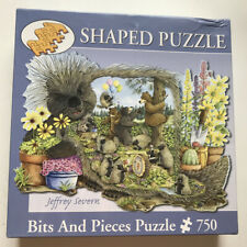 """Quills And Thrills by Jeffrey Severn 750 Piece Jigsaw Puzzle 20"""" x 27"""" Bits"""
