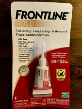 Frontline Gold for Dogs 88-132lbs lbs flea & tick treatment-3 Single Dose