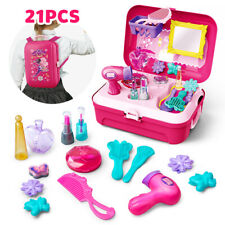 Washable Pretend Kids Make Up Gifts Set NON-TOXIC Makeup Hard Box Toys for Girls
