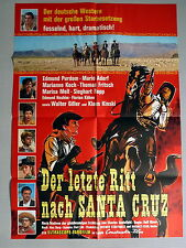 KLAUS KINSKI * LETZE RITT NACH SANTA CRUZ - A1-Kinoposter - German 1-Sheet 1964