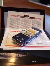 1964 FRANKLIN MINT PONTIAC GTO CONVERTIBLE 1-43 MINT IN THE BOX