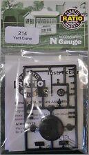 Ratio 214 Yard Crane (Plastic Kit) N Gauge Railway Model