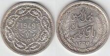 Tunisie ( Module de ) 10 Francs  1949  1 103 Exemplaires frappés Silver coin