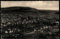 Bad Orb Spessart alte AK Hessen 1961 gelaufen Panorama Blick in das Kurviertel
