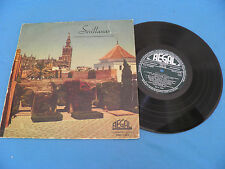 "Sevillanas - RARE Spain Espana ""Regal"" 10"" LP / Nina De Los Peines / Flamenco"