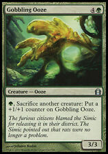 1x FOIL Gobbling Ooze Return to Ravnica MtG Magic Green Uncommon 1 x1 Card Cards