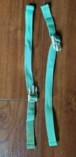 Fisher Price Rainforest Cradle Swing Waist Straps Green 2pc Replacement Part