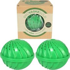 2 x Eco Magic Upto 1000 Wash Ball Laundry Washing Machine Clean & Soften Clothes
