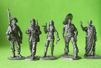 Tin toy mix figures soldiers 54 mm exclusive collection figures