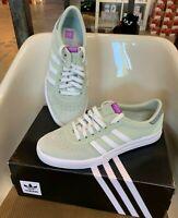 Adidas Lucas Premiere Men's Skateboarding Shoe - Light Green / White / Grey