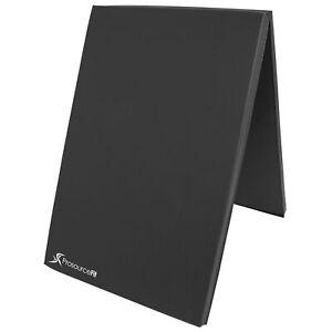 6'x2' Exercise Non-Slip Bi-Fold Thick Foam Gym Mat.