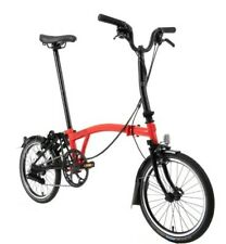 BNIB BROMPTON Rocket Red 2020 M6L FOLD BIKE 6 Speed Worldwide🌎 P&P
