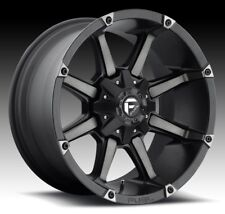 Fuel Coupler 20x12 6x135/6x5.5 ET-44 Black Machined Rims (Set of 4)