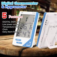Thermometer Hygrometer Indoor Outdoor Temperature Humidity Meter Digital Week