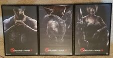 2010 Comic Con Gears of War 3 Framed not Autographed Posters Set HTF