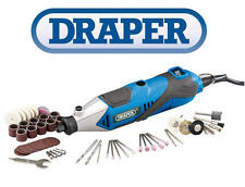 Draper Multi Tool Engraver Polisher Drill Power Tool + 56 Pc Accessory Kit 83651