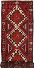 2017 # Handmade Baluchi Rug 398x90 cm Traditional Hallway Long Runner Home Decor