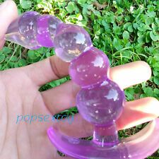 Purple Toys-Plug Vagin-Anal-Dildo-Butt Product-Sex-Insert-Adult-Anus-Gay Soft