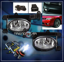 2006 2007 2008 HONDA CIVIC DX EX LX SI COUPE 2DR BUMPER CHROME FOG LIGHTS+8K HID