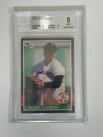 Roger Clemens 1985 Donruss Rookie #273 BGS 9 MINT! Boston Red Sox! 7X CY YOUNG!