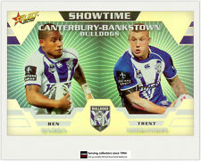 2012 Select NRL Champions Showtime Holochrome Card ST3 Barba/Hodkinson (Bulldog)