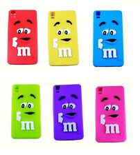 Funda (case) de silicona para BQ Aquaris E 5.0 (E5.0) M&M